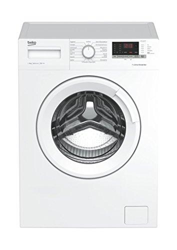 Beko WML 81633 NP Waschmaschine Frontlader/8kg/A+++/1600 UpM/StainExpert/Mengenautomatik/Pet Hair...