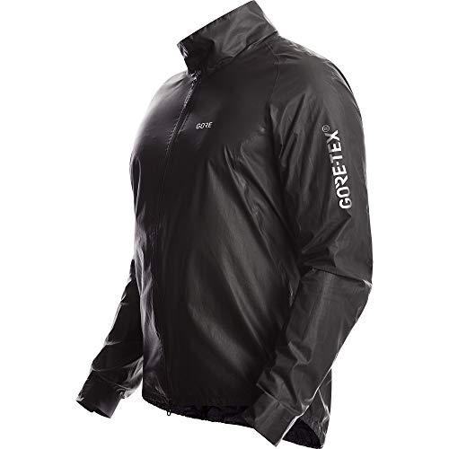 GORE Wear C5 Men's Cycling Jacket GORE-TEX SHAKEDRY, L, Black