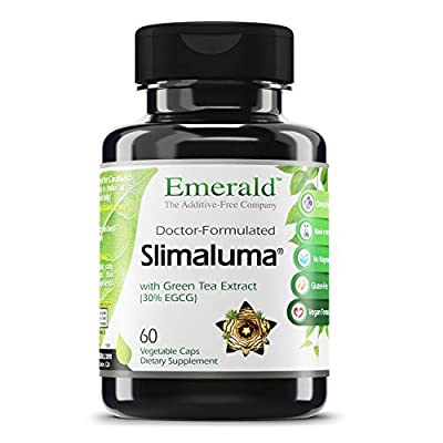 Emerald Labs Slimaluma - Green Tea Weight Loss Support, Helps Support Appetite Suppression and Fat Oxidation - 60 Vegetable Capsules