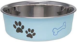Loving Pets Bella Bowl for Dogs, Extra Large, Murano Blue