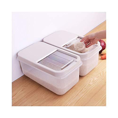 Amazing Deal Alician Home for Rice Storage Box Sealed Moisture-Proof Large Capacity Grain Flour Cont...