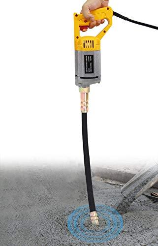 YJINGRUI Vibrador de hormigón de mano 220V 950W Vibrador de hormigón eléctrico...