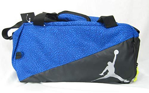 Nike Air Jordan Jumpman Elemental Duffle Bag Black Blue Elephant Prt 7A1908-U4U