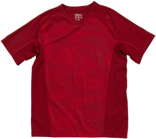 Wilson T-Shirt B SP Solana Geo Crew - Camiseta de Tenis para...