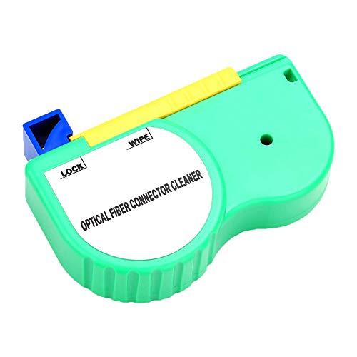 Limpiador de fibra óptica SC FC ST LC adaptador de conector antiestático sin alcohol 500 veces herramienta de limpieza Alicates de corte