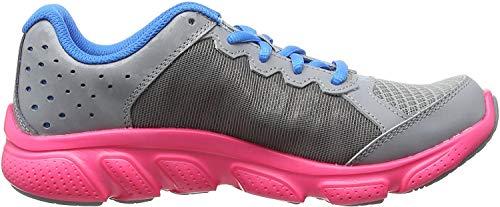 Under Armour Ua Ggs Micro G Assert 6, Chaussures de Running Compétition fille - Gris - Grey (Steel), 36.5 EU