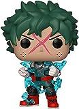 ZYYWAD CoundB My Hero Academia Deku (Capucha Completa) Pop Animation # 596 3 9 Pulgadas Figura de Vinilo Multicolor