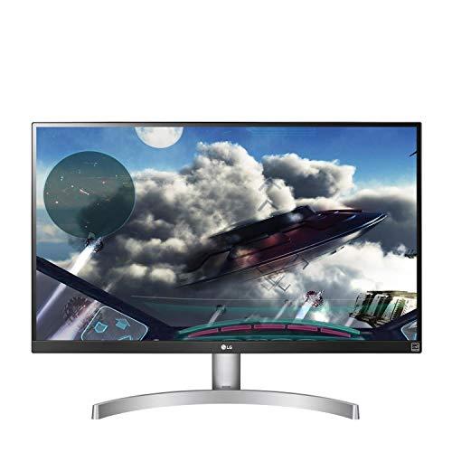 LG 27UK600 27 inch 4K UHD HDR 10 IPS Monitor (3840 x 2160, 2x HDMI, DisplayPort, 350 cd/m2, 5ms, AMD Freesync) - silver/Black