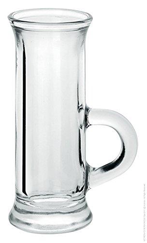 Borgonovo 6 Pz Bicchieri Tazzine Vodka Amaro Liquore Polo Ce6/72 4,5 Cl