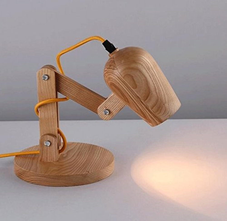 Massivholz-Studie Schlafzimmer-Lesung justierbare Roboter-Lampe B072L38QDR | Niedriger Preis  Preis  Preis  d4f004