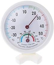 poity redonda Interior Exterior Wet humedad termómetro higrómetro Temperatura Temp nuevo