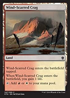 Magic: the Gathering - Wind-Scarred Crag (247/269) - Khans of Tarkir