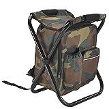 SASCD Camping Plegable Silla de Pesca Taburete portátil Mochila refrigerador Aislado Picnic Bolso Senderismo Asiento Mesa rucksackackackack (Color : Type A Chair Bag 04)