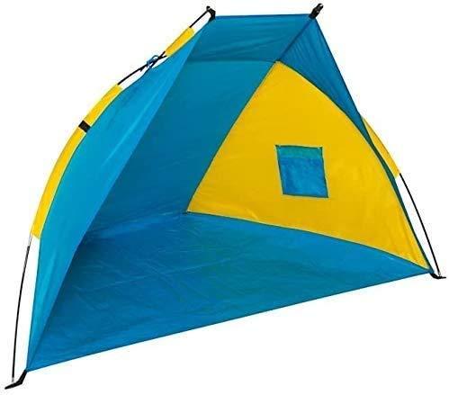 SXXYTCWL Pop Up Camping Beach Tent Pop Up Beach Tent, Camping Tienda portátil Portátil Ligera Anti-UV Tienda Easy Up Beach Sun Shelters Tienda for Picnic Familia, Playa Fácil de configurar jianyou