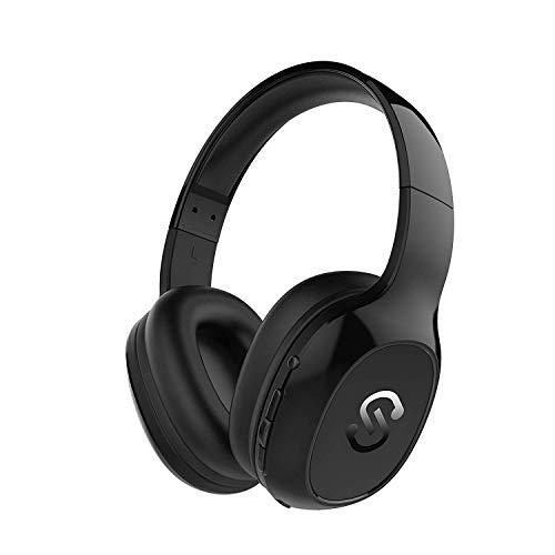 Cascos Bluetooth 4.1 Inalmbricos, Auriculares Bluetooth de Diadema SoundPEATS A2 20 Horas de Duracin...