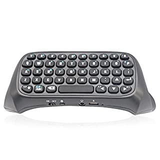 new Black Wireless Bluetooth Keyboard For PS4 Play Station 4 Controller (B00NQRO2JE) | Amazon price tracker / tracking, Amazon price history charts, Amazon price watches, Amazon price drop alerts