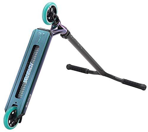 Blunt Prodigy S8 Complete Stunt-Scooter Höhe=85cm + Fantic26 Sticker (Park Jade Grün Lila metallic)