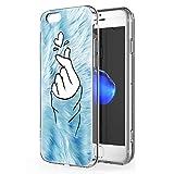 Pnakqil Funda iPhone 6 / 6s Transparente Silicona Carcasa Ultrafina Suave Gel TPU Piel Antigolpes Protectora Bumper Case...
