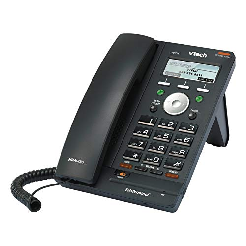 Vtech VSP715 ErisTerminal Deskset VoIP Phone and Device
