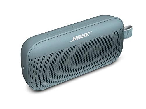 Bose SoundLink Flex Bluetooth Portable Speaker, Wireless Waterproof Speaker for Outdoor Travel - Stone Blue