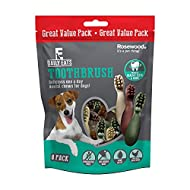 Rosewood Daily Eats Dental Toothbrush Dog Treats Extra Large Value Pack 200g
