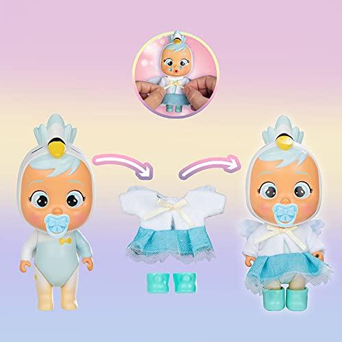 Bebés Llorones Lágrimas Mágicas Storyland Dress Me Up - Muñeca sorpresa coleccionable que llora y con ropa a vestir y accesorios; juguete y regalo para niñas y niños 3 años y más