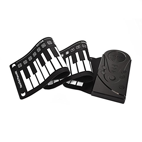 Great Features Of Neufday 49 Keys Roll Up Piano,Upgraded Portable Rechargeable Electronic Hand Roll ...