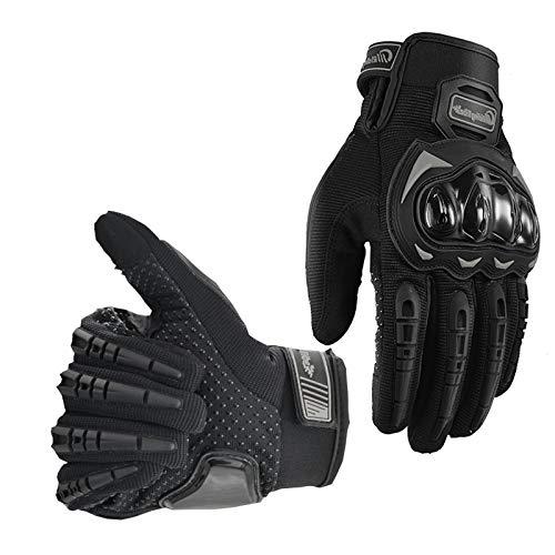 Alyphiin Fahrradhandschuhe Herren Damen Anti-Rutsch Anti-Kollision Touchscreen Handschuhe Herren Atmungsaktiv Taktische Trainings Kletter MTB Fahrrad Outdoor Sport Vollfinger Motorradhandschuhe