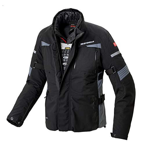SPIDI Tour Evo H2Out Chaqueta, Negro, M
