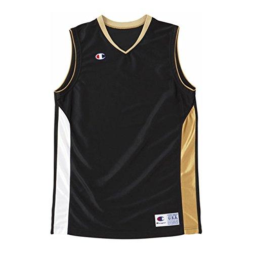 [チャンピオン] タンクトップ 速乾 ワンポイントロゴ ゲームシャツ バスケットボール GAME CBR2203 メンズ ブラック L