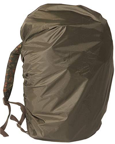 Mil Tec BW: Funda impermeable para mochila  estilo militar  color verde Talla:80L
