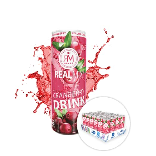REALMIX Cranberry Saft (24x250ml)