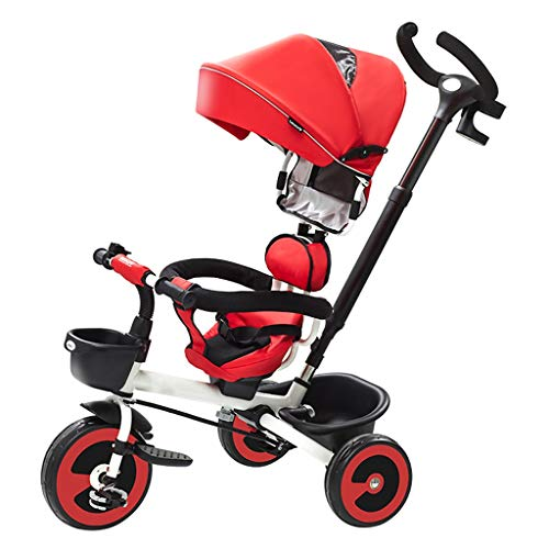 Affordable Folding Children's Tricycle 1-3-6 Years Old Bicycle Stroller Baby Stroller Slip Baby Arti...