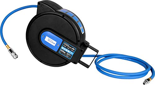 Güde 02878 Automatik Druckluftschlauch Schlauchtrommel Plus Guede Automatikschlauchtrommel Farbe:blau/schwarz