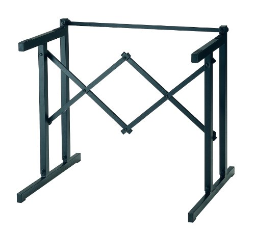 K&M Stands K&M-18880 Table-Style Keyboard Stand-Black (18880.000.55)