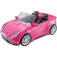 Barbie- Convertible Car Coche descapotable, Color rosa, 35 x 16x 18 cm (Mattel DVX59)