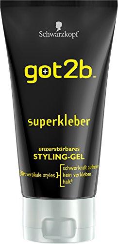 Got2b superkleber unzerstörbares Styling Gel, 3er Pack (3 x 150 ml)