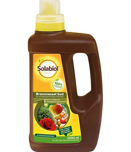 Solabiol Brennnessel Sud, biologisches Pflanzenstärkungsmittel zur Kräftigung und Stärkung schädlingsanfälliger Pflanzen, 1 Liter