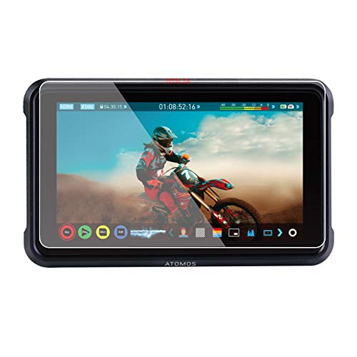 Foto&Tech 2 Sets Crystal Clear HD LCD Screen Protector Compatible with Atomos Ninja V 5