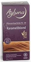 Pflanzenhaarfarbe Karamellblond Nr.30 (100g) - Naturkosmetik - Langanhaltende Farbe, Glanz und Volumen - Chemiefrei