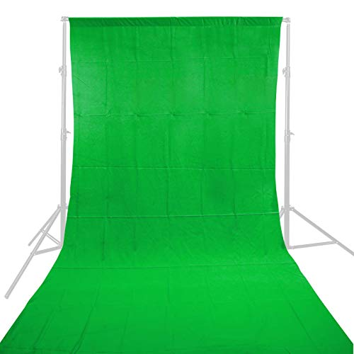 100% Cotone 3 x 3M verde Photo Studio Video mussola Fotografia Sfondo Sfondo