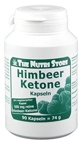 Himbeer Ketone 500 mg pro vegetarische Kapsel - 90 Stk.