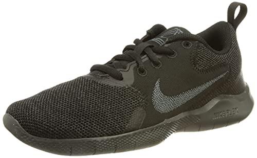 Nike Flex Experience Run 10, Zapatillas para Correr Mujer, Black Dk Smoke Grey, 41 EU