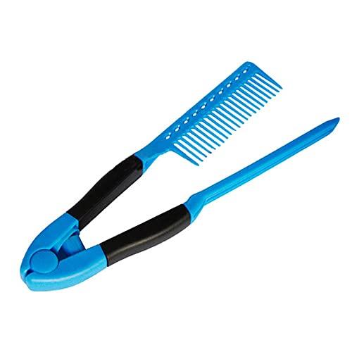 Peines para el cabello de moda tipo V peine alisador de pelo para salón de bricolaje herramienta de peinado de peluquería peines antiestáticos estilo-China, 02