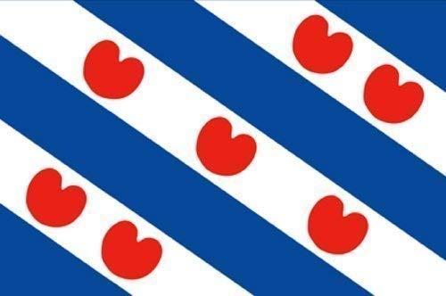 Deko-Fahne - Holland Friesland - Gr. ca. 150x90 cm - 24046
