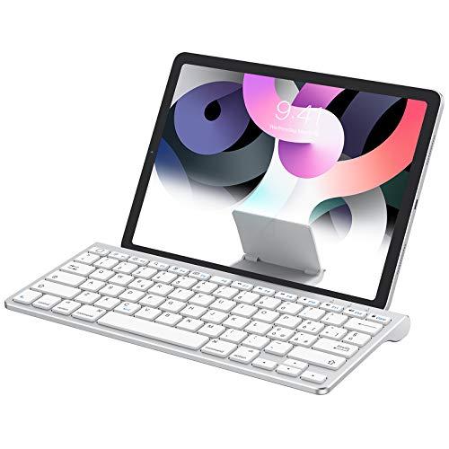 OMOTON Tastiera Bluetooth Wireless per iPad - Ultrasottile con Supporto Estraibile - Compatibile con iPad PRO,...