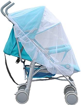 Ewinsun 通用全覆盖婴儿蚊帐,适用于婴儿车、背带、白色便携式婴儿昆虫网