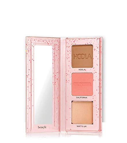 BENEFIT get the pretty started! bronze, blush & highlight palette TRAVEL SIZE LIMITED