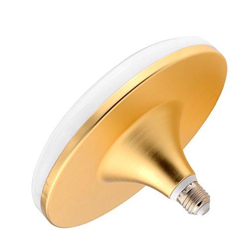 Bombillas E27 / E26 50W 100LED 5730SMD 4700-4950 LM Blanco cálido Blanco frío Lámpara UFO AC 220-240V Cambiar la bombilla LED (Size : Warm White)