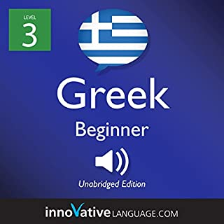 Learn Greek - Level 3: Beginner Greek cover art